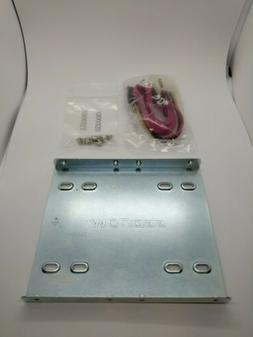 """Kingston 2.5 Inch HDD/SSD Mounting Kit For 3.5"""" Drive Bay or"""