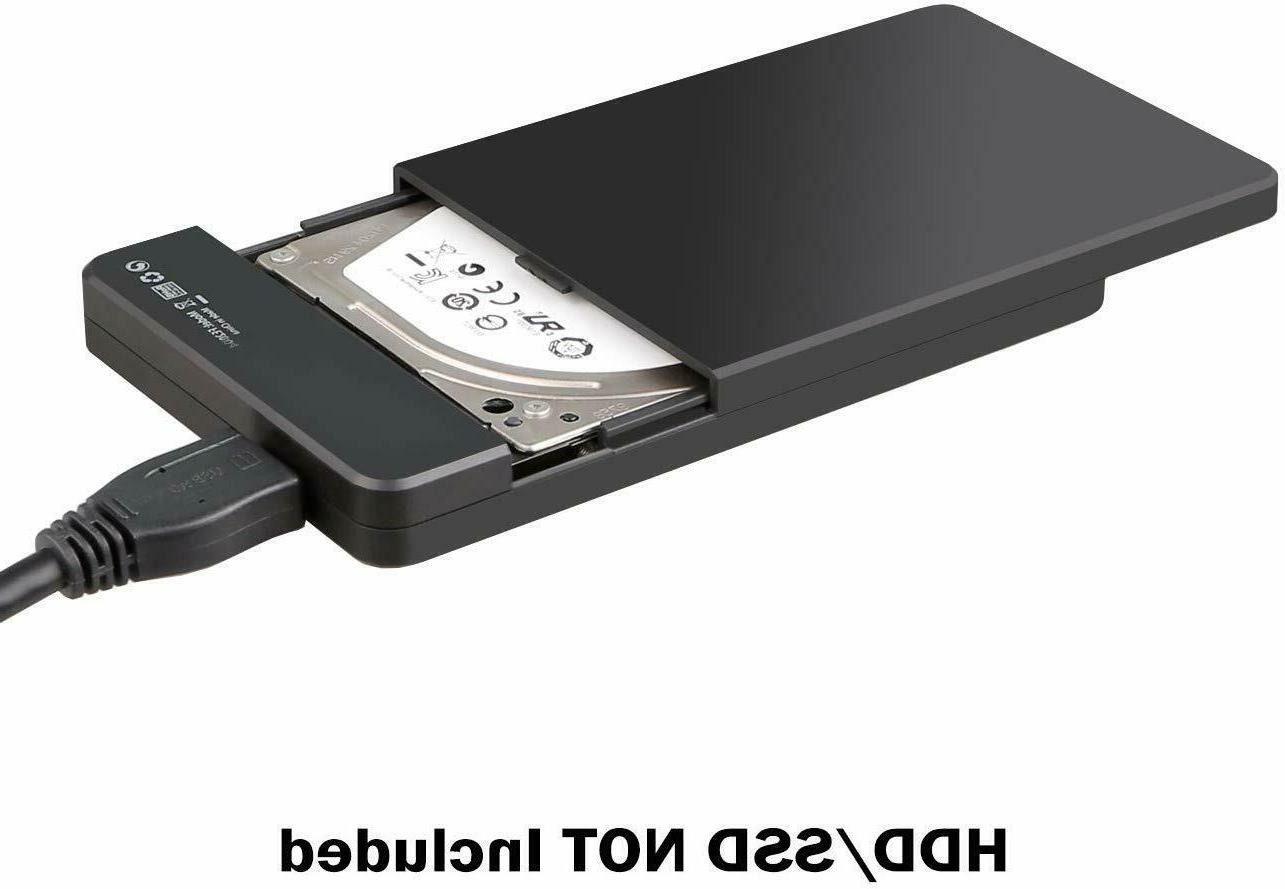 """Inateck 2.5"""" USB 3.0 Drive Disk HDD SSD Enclosure Laptop"""