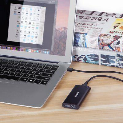 Inateck Aluminum to USB Hard Drive Enclosure for SSD,