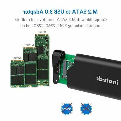 Inateck Aluminum SATA to USB 3.0 Drive for SSD,