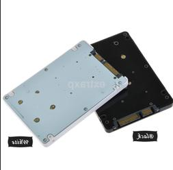 """New Type Mini Pcie mSATA SSD to 2.5"""" SATA3 Adapter Card with"""
