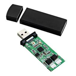 NGFF M.2 to USB3.0 SSD Enclosure Straight Intert Type Solid